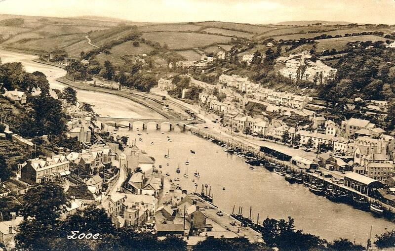 Early 20th Century postcard of Looe.