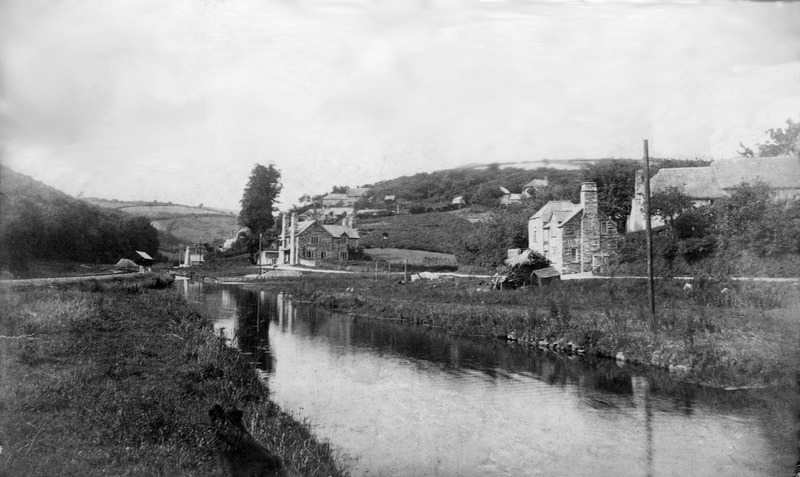 Polraen and the Looe Canal at Sandplace