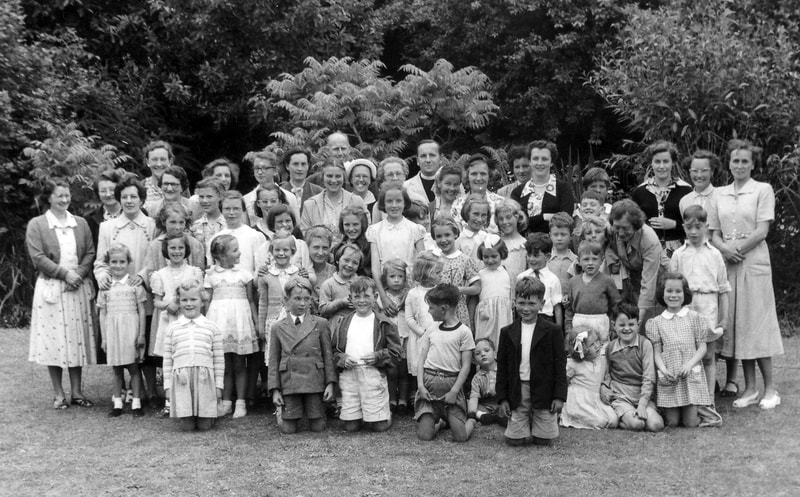 Sunday School group, 1950s Looe